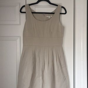 Nude/bone/ivory Banana Republic Work Dress